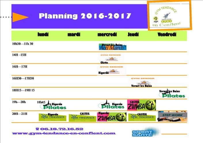 planning 2016-2017